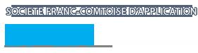 SFCA Société Franc-Comtoise d'Application Logo